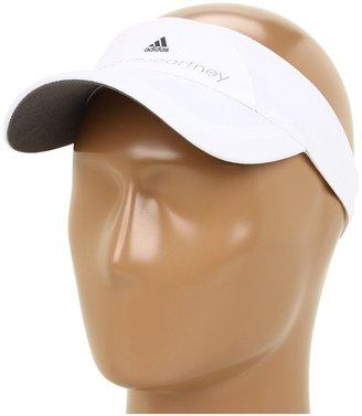adidas by Stella McCartney Organic Cotton Visor Z53420 (White/Sharp Grey F11) - Hats