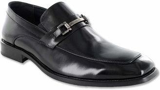 Stacy Adams Blake Mens Leather Moc-Toe Slip-On Dress Shoes