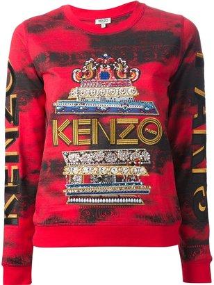 Kenzo 'Lotus Eye' sweatshirt