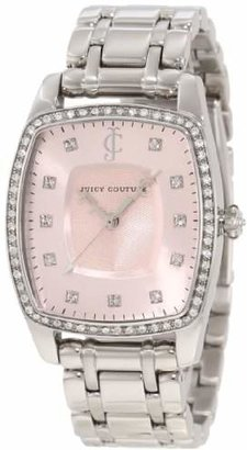 Juicy Couture Women's 1900973 Beau Stainless Steel Bracelet Watch