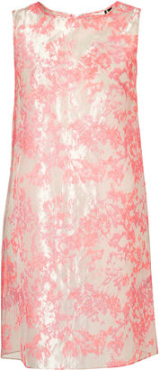 Topshop LIMITED EDITION Organza Flower Shift Dress**