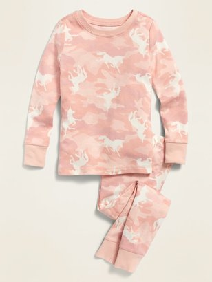 Old Navy Camo Unicorn-Print Pajama Set for Toddler & Baby