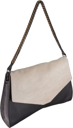 Narciso Rodriguez Angled-Bottom Shoulder Bag