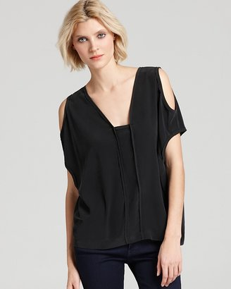Yigal Azrouel Cut25 by Blouse - Cold Shoulder