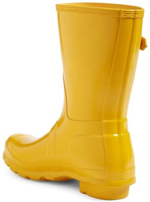 Hunter Short Gloss Waterproof Rain Boot