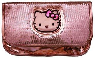 Hello Kitty FAB Starpoint Girls 7-16 Metallic Shine Flap Clutch