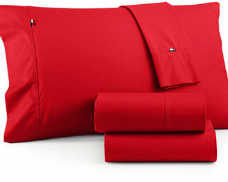 Tommy Hilfiger Solid Core Full Sheet Set Bedding