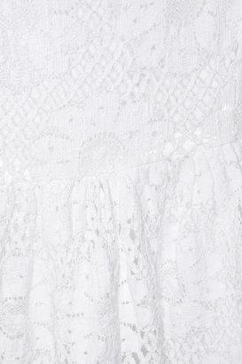 Collette Dinnigan Collette by Cotton-blend lace dress