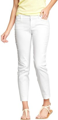Old Navy Women's The Pixie Stretch-Twill Skinny Ankle Pants