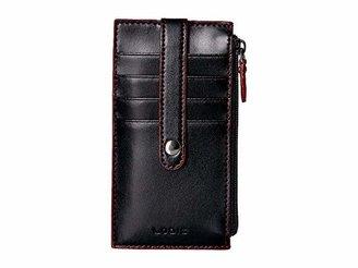 Lodis Audrey RFID 5 Credit Card Case w/Zipper Pocket