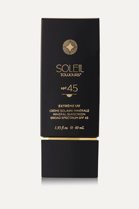 Soleil Toujours Spf45 Extreme Uv Mineral Sunscreen For Face, 40m