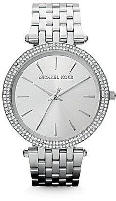 Michael Kors Darci Sterling Silver Analog Watch