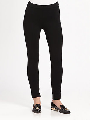 Valentino Compact Cropped Leggings