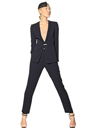 Giorgio Armani Techno Cady Trousers