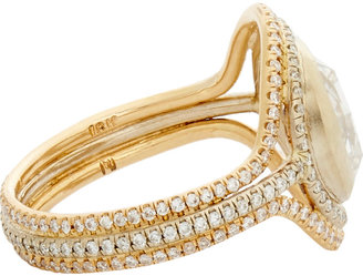 Irene Neuwirth Diamond Collectio Diamond Triple-Band Ring