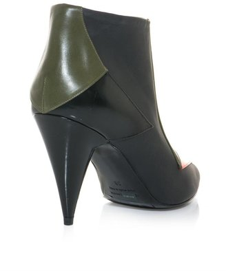 Pierre Hardy Tri-colour ankle boots