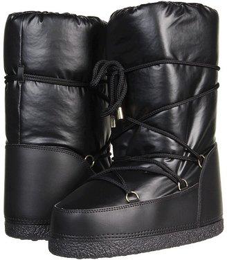 Dolce & Gabbana Snowboot (Toddler/Youth) (Black) - Footwear