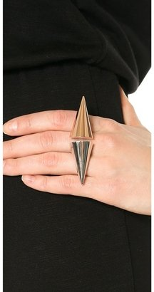 Magid Sarah Large Double Cone Ring