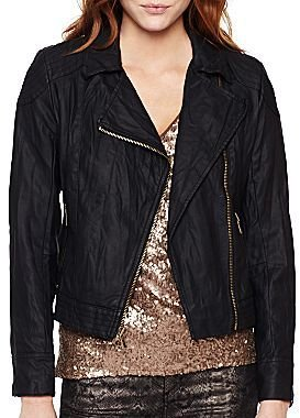 i jeans by Buffalo Faux Leather Moto Jacket