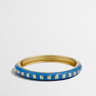 J.Crew Factory Factory square dotted bangle