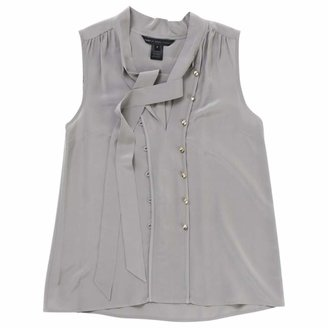 Marc by Marc Jacobs Grey Silk Tops