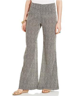 American Rag High-Waist Wide-Leg Pants