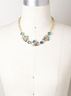 Stein & Blye Jeweled Vine Necklace