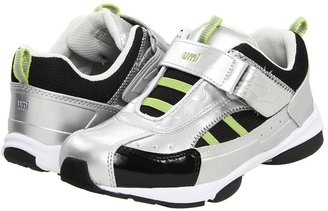 Umi Ryder (Toddler/Youth) (Grey/Black) - Footwear