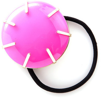 ban.do Rock Solid Hair Tie Neon Pink