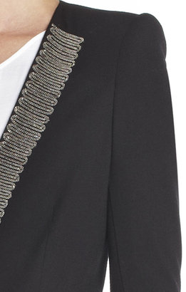 BCBGMAXAZRIA Whitley Chain-Lapel Jacket