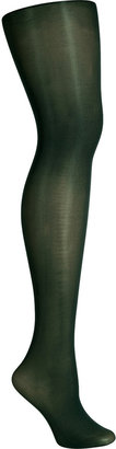 Fogal Cypres Green Opaque Tights