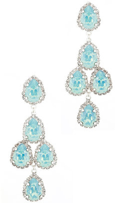 Erickson Beamon Duchess of Fabulous Earrings in Sea Green