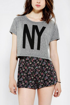 Truly Madly Deeply City Livin Cropped Tee