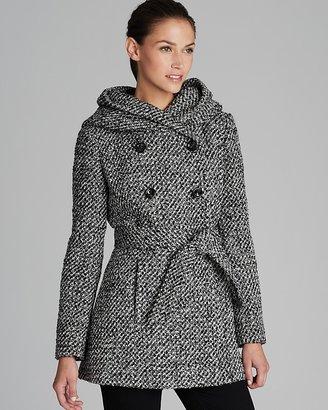 Calvin Klein Coat - Belted City Tweed