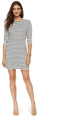 Juicy Couture Embellished Stripe Shift Dress