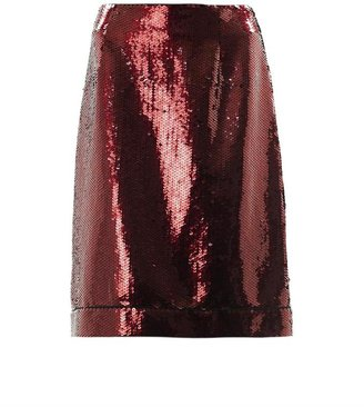 Marc Jacobs Sequinned pencil skirt