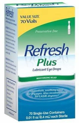 Refresh Plus Lubricant Eye Drops - Value Size $27.99 thestylecure.com