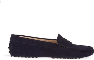 Tod's Tods Gommino suede driving shoes