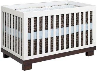 Babyletto Modo 3-in-1 Convertible Crib- Espresso/White