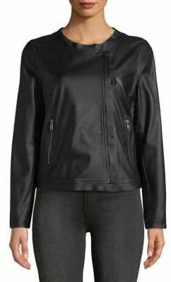 Max Mara Barni Leather Jacket