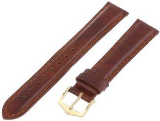 Hirsch 015750-70-18 18 -mm Genuine Leather Watch Strap