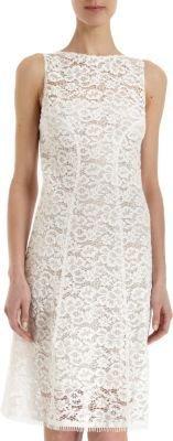 Nina Ricci Lace Shift Dress