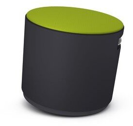 Steelcase Turnstone Buoy Desk Chair Frame Finish: Black, Upholstery: Connect - Wasabi