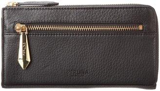 Perlina Handbags - Belinda Zip Wallet (Black) - Bags and Luggage