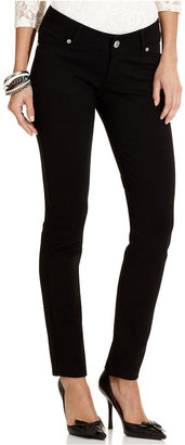 7 For All Mankind Seven7 Petite Jeans, Skinny, Black Wash