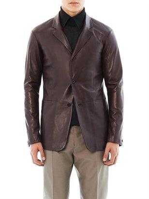 Cerruti Paris Leather blazer