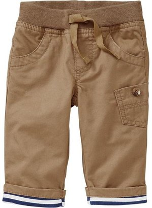 Old Navy Rib-Waist Twill Pants for Baby