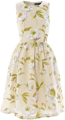 French Connection Spring Bloom Flared Dress