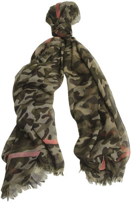 Wet Seal Camo Scarf