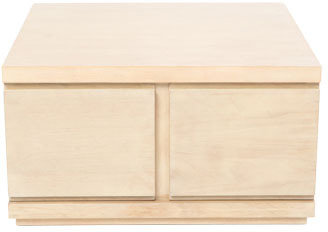 Vue Latina Coffee Table in Lime Washed Timber Veneer Finish